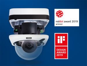 Red Dot Award 2019 voor nieuwe domecamera's van ABUS