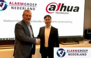 Dahua en Alarmgroep Nederland sluiten overeenkomst