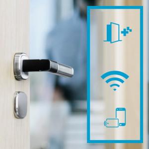 Nieuwe Aperio H100 deurgreep van ASSA ABLOY voor draadloze toegangscontrole