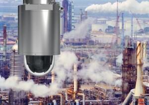 Explosieveilige PTZ-camera Axis met 40x optische zoom voor gebruik in gevaarlijke omgevingen