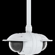 Nieuwe panoramische multisensorcamera's van de AXIS P38-serie