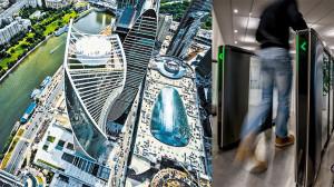 Beveiligingspoortjes Boon Edam voor Evolution Tower Moskou