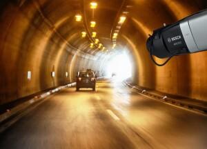 Snelle en betrouwbare detectie van rook en vlammen in tunnels met AVIOTEC van Bosch