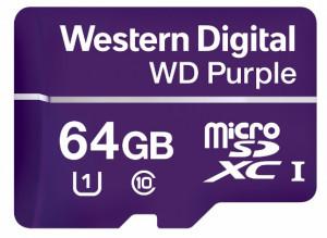 Western Digital introduceert Micro SD-kaart voor nieuwe generatie 24/7 betrouwbare beveiligingscamera's