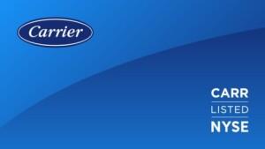 Carrier verder als onafhankelijk en beursgenoteerd bedrijf na afscheiding van UTC