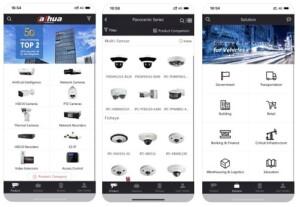 Volledige assortiment Dahua altijd binnen handbereik met Dahua Partner App