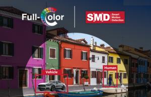 Nieuwe camera's Dahua Technology voor kleuren beelden in het donker en slimme bewegingsdetectie
