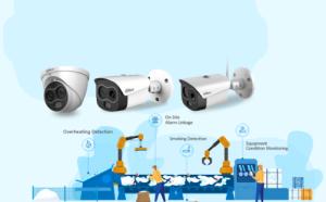 Nieuwe Eureka camera's Dahua voor vroegtijdige branddetectie