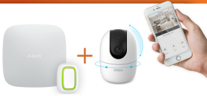 Dero Security Products stelt zorgkit samen met AJAX hub en button en Dahua-camera