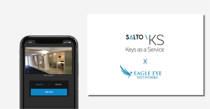 Partnerschap SALTO Systems en Eagle Eye Networks