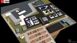 Falck bouwt nieuw veiligheidscentrum voor hoog risico industrie en publieke veiligheid