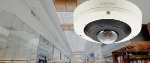 Nieuwe Wisenet P 4K 360 graden fisheye camera van Hanwha Techwin