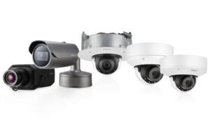 Nieuwe Wisenet P-reeks AI-camera's Hanwha Techwin