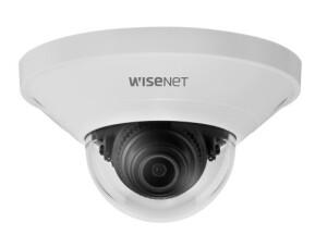 Compacte domecamera's van Wisenet voor detailhandel