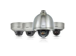Hanwha Techwin introduceert roestvrij stalen Wisenet X camera's