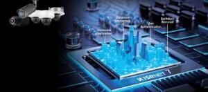 Nieuwe krachtige Wisenet7-chipset Hanwha Techwin ondersteunt cyberbeveiliging camera's