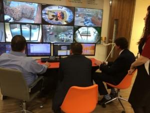 Nieuwe showroom in Europees hoofdkantoor Hanwha Techwin