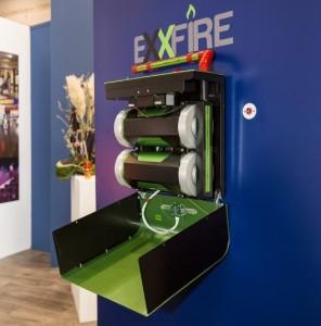 Hertek Groep presenteert innovatief blussysteem ExxFire 1500