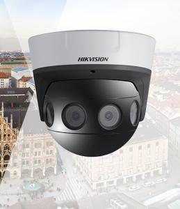 Nieuwe ultra HD 32 MP PanoVu panoramische camera van Hikvision