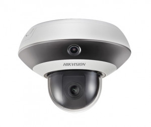 Nieuwe mini PanoVu camera Hikvision combineert panoramische beelden met PTZ