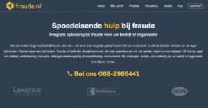 Nieuw platform Fraude.nl helpt organisaties bij bedrijfsfraude