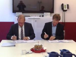 Intergarde ondertekent contracten cameraproject Smakterheide