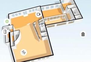 Ksenia Lares 4.0 biedt meer bedieningsgemak met plattegronden