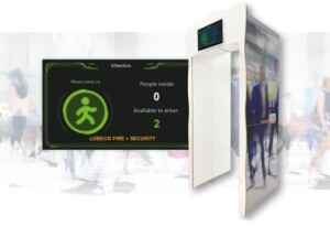 Real-time personenteller van Lobeco Fire + Security