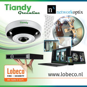 Tiandy Technologies compatibel met NX Witness van Network Optix