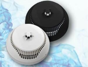 Rook- en warmtedetector Teletek nu ook in zwarte uitvoering bij Lobeco