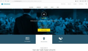 Agenda: Milestone Integration Expo Benelux van Milestone Systems op 23 oktober