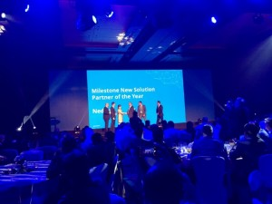 Nedap ontvangt New Solution Partner of the Year Award van Milestone Systems
