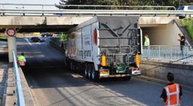 Optex Technologies levert laser detectietechnologie voor hoogtedetectiesysteem met Traffic Service Nederland