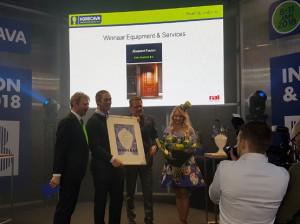 Horecava Innovation Award 2018 voor SALTO Systems