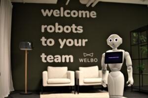 Securitas zet sociale robot Pepper in
