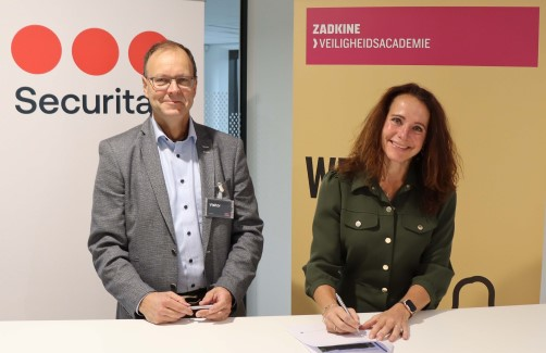Securitas en Zadkine verlengen samenwerking met blended learning
