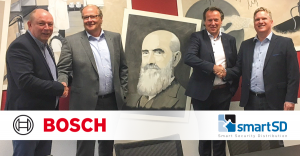Samenwerking Bosch Security and Safety Systems en SmartSD