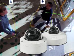 Applicatie van Bosch voor het tellen van personen in winkels bij SmartSD