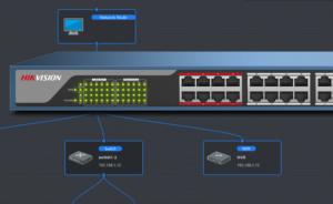 Intelligente switches van Hikvision bij SmartSD