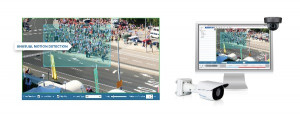 Avigilon voegt Unusual Motion Detection technologie toe aan H4 SL en mini-domecamera's