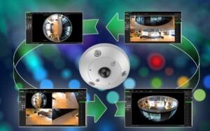 Nieuwe TruVision panoramische camera's bij UTC Fire & Security