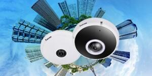 Nieuwe H.265 fisheye camera's Vivotek met Smart 360 VCA Deep Learning-technologie