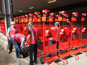 Tijdelijke brandbeveiliging voor Mall of the Netherlands