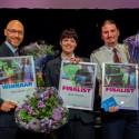 Verkiezing winnaars V-factor 2017 bij start Week van de Veiligheid