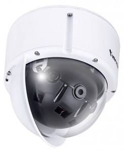 Nieuwe multi-sensor vandalismebestendige domecamera Vivotek