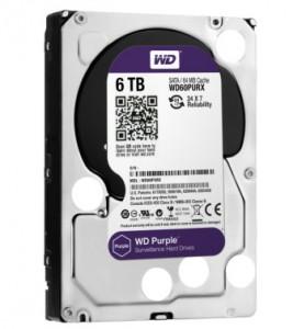 WD Purple met opslagcapaciteit van 6 TB