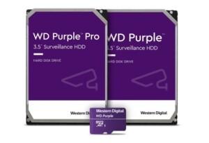 Nieuwe WD Purple Pro smart video-oplossingen Western Digital